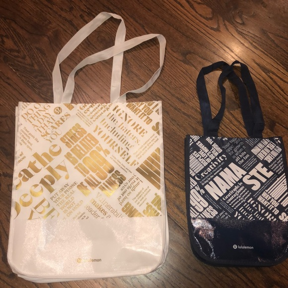 lululemon athletica Handbags - Lululemon bag set